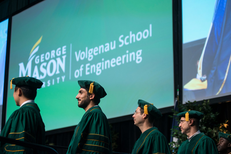 Volgenau School of Engineering Degree Celebration
