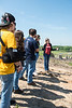Professor Liza Durant's environmental engineering students tour the Prince William County Landfill.  Photo by Bethany Camp / Creative Services / George Mason University