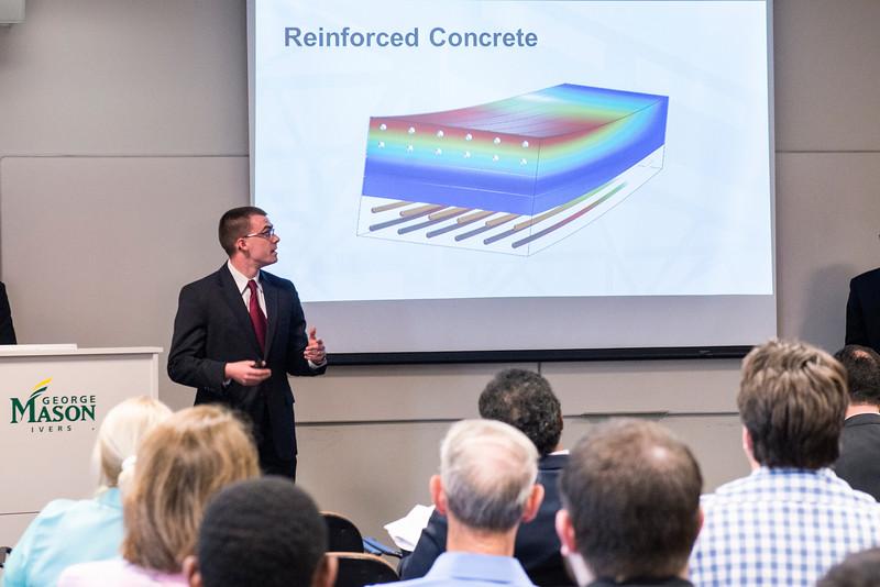 Civil, Environmental & Infrastructure Engineering classroom