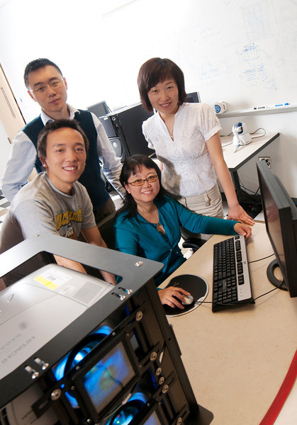 110503664e - Computer Science students. Photo by Evan Cantwell.