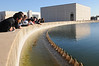 Civil Engineering students tour water plant. Photo by Evan Cantwell/Creative Services/George Mason University