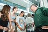 Volgenau School of Engineering Ice Cream Social.   Photo by:  Ron Aira/Creative Services/George Mason University