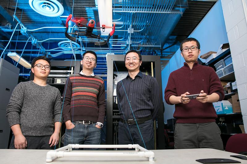 Jim Jones & Kai Zeng at Cyber Physical Lab