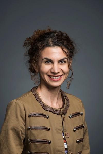 Sara Hadad, Graduate Teaching Assistant, VSE. Photo by:  Ron Aira/Creative Services/George Mason University