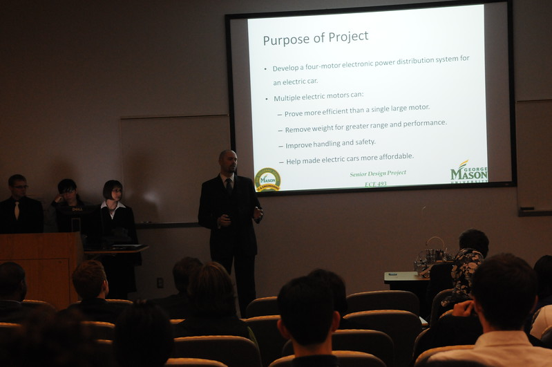 Professor Pachowicz ECE class final presentations.
