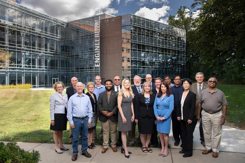 Volgenau School of Engineering Group photo