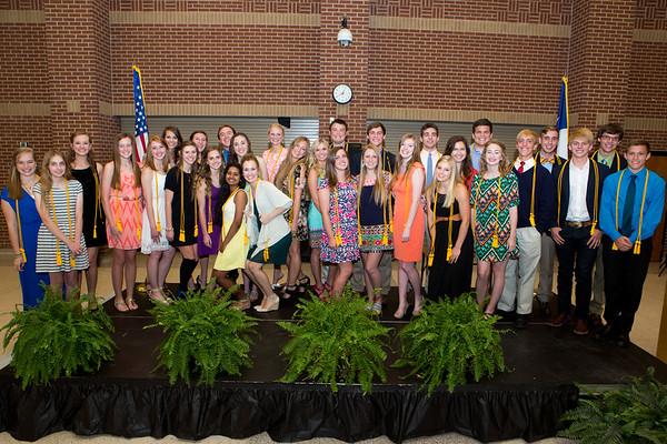 2014 AHS Honor Graduate Recognition Banquet