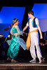 Raven Pettigrew and Travis Reddout as Jasmine and Aladdin