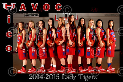 Hico Basketball Teams 2014-2015