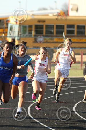 Lorena Invitational Track Meet 2014