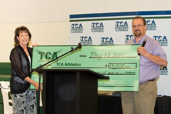 TCA Athletic Banquet 2014