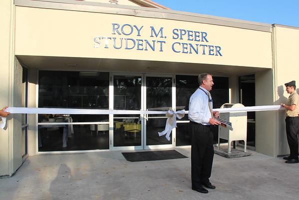 Roy M. Speer Student Center Ribbon Cutting Ceremony