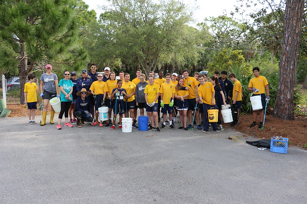 Earth Day Cleanup at Clam Bayou 2018