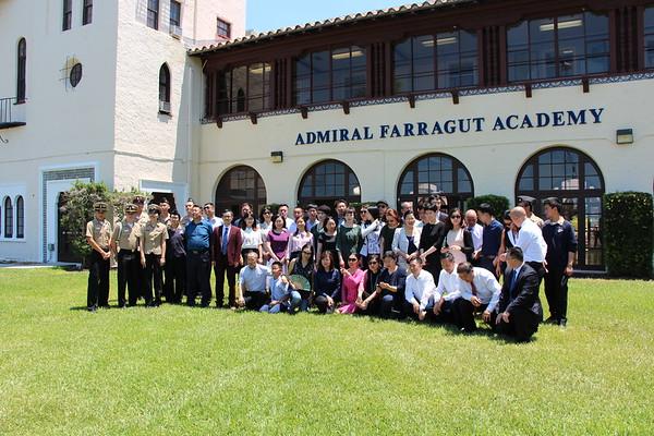 Edublossom Chinese School Heads and Educators Visit to Farragut