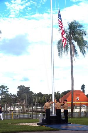 9/11/2015 Commemorative Flag Ceremony