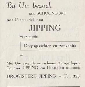 advertentie H. Jipping, 1954