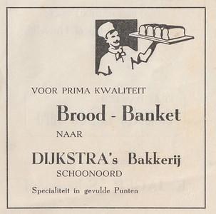 advertentie G. Dijkstra, 1954