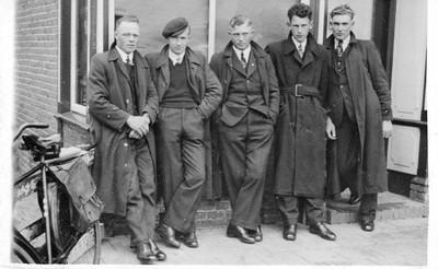 5 Schoonoordse mannen in 1944