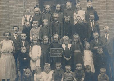 Christelijke Nationale School, ca 1920