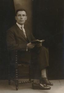 Albert Jan Kloeze, schoolmeester CS Schoonoord