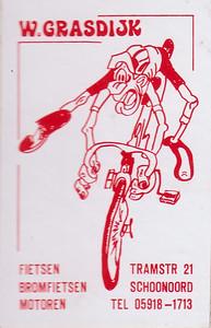 reclame sticker Grasdijk