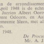 Oortwijn en Bouwes. 6-4-1948, echtscheiding