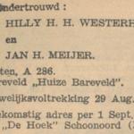 Westerhuis en Meijer, 8-1941, ondertrouw
