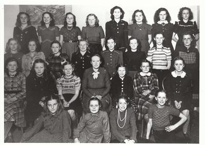 Meisjesvereniging, ca 1955