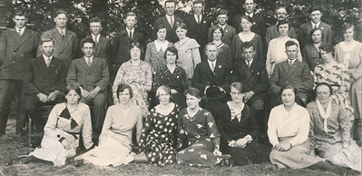 Zangvereniging, ca 1929