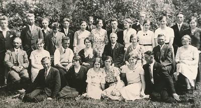 Zangvereniging Gereformeerde Kerk, ca 1935.