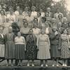 Reis van de drie vrouwenverenigingen Weest een zegen, De Kiel en Odoornerveen, ca 1958