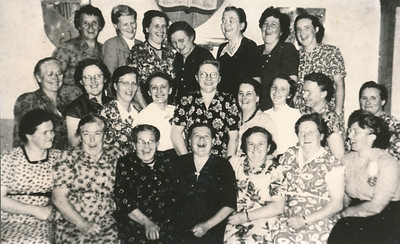 Evangelisatievrouwenvereniging De Kiel, ca. 1950