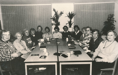 Vrouwenvereniging De Kiel, 1986.