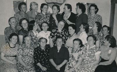 Evangelisatie vrouwenvereniging ca 1950