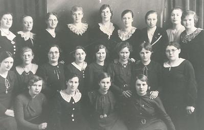 Meisjesvereniging Bidt en werkt, 11-3-1937