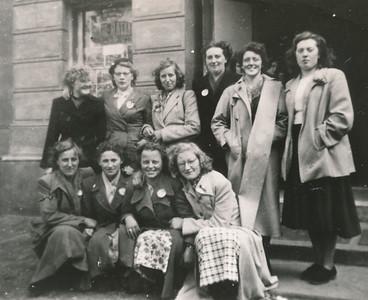 Uitstapje Meisjesvereniging naar Zwolle, 16 mei 1951