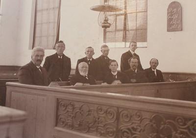 Kerkenraad NH Gemeente Schoonoord, ca 1910