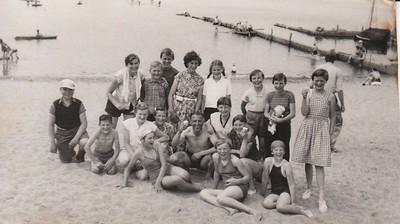 OLS schoolreisje naar omgeving Harderwijk 1953/54