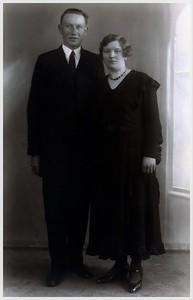 Harm Boerma (1909-1983) en Roelofje Hummel (1915-1997)