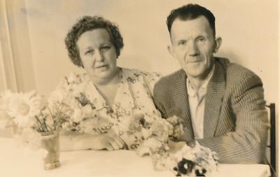 Teunis Bos en Roelfien Warris