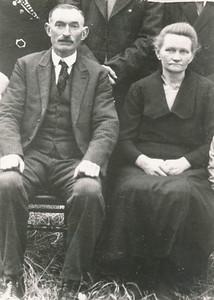 Harmen Jan Bos (1887-1942) en Bontje Kuipers (1889-1936)