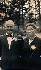 Petrus Dam en Jantje Meinders, 1955