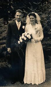 Johan Deen en Hilda Dam, 1955