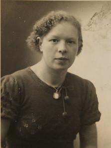 Afina Cornelia Dijkstra, foto ca 1940