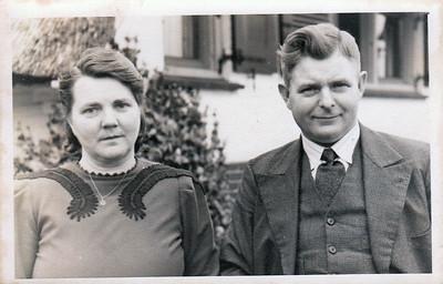 Jan Dam en Asselina (Liene) Dam-Aardema
