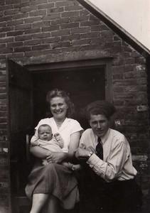 Gezin Jan Albert Dam, 1953.