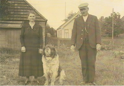 Gerrit Dijkstra en Hendrikje ten Kate