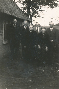 Familie Gebben op de Konijnebergen (Kwekebosweg)