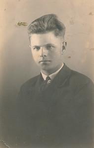 Meindert de Graaf (1915-1972), foto ca. 1935.