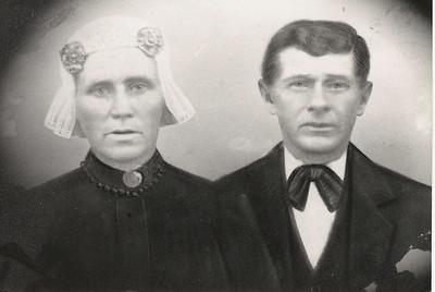 Kornelis de Graaf (1851-1905) x Zwaantje Vredeveld (1861-1922). 1904.